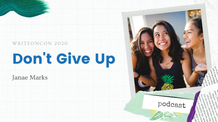 KEYNOTE: Don't Give Up