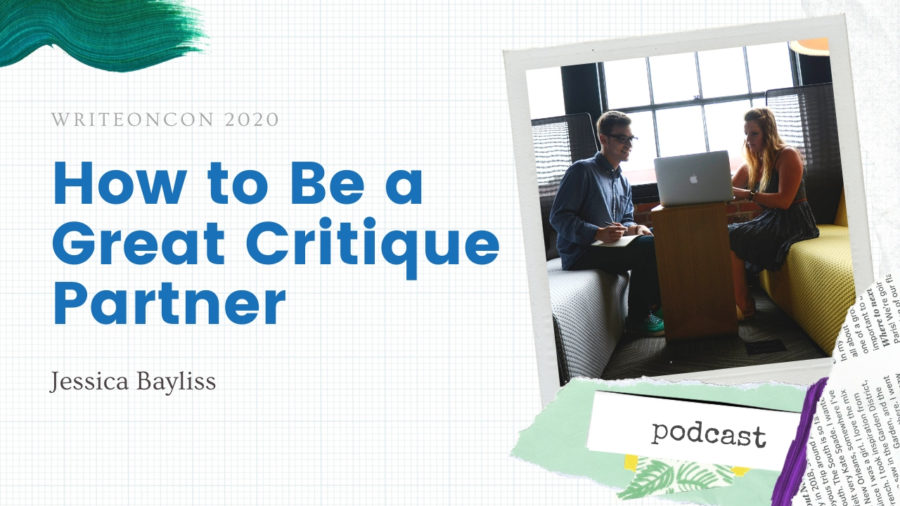 How to be a Great Critique Partner