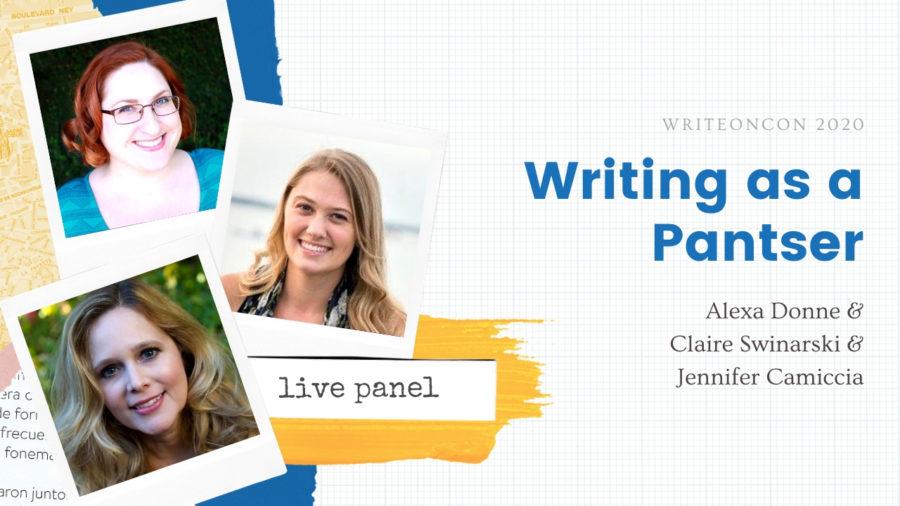 Writing as a Pantser