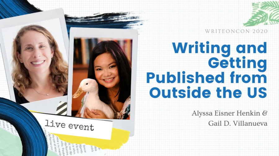 LIVE: Writing and Getting Published from Outside the US