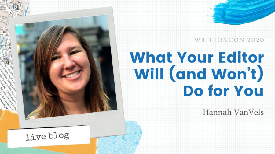 What Your Editor Will (and Won't) Do for You