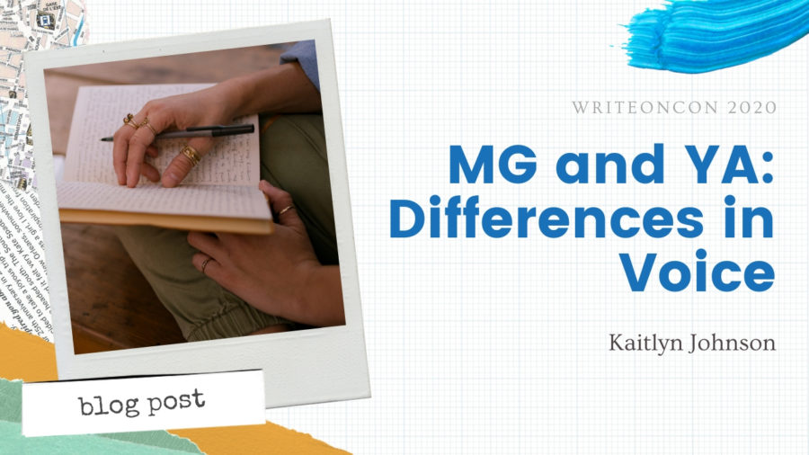 MG and YA: Differences in Voice
