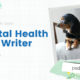 Keynote: Mental Health as a Writer