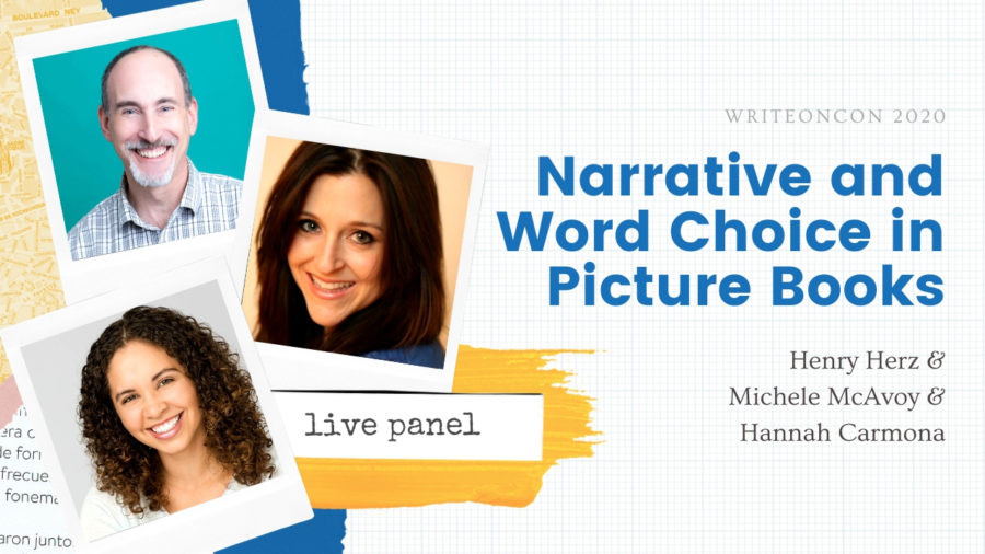 LIVE: Narrative and Word Choice in Picture Books