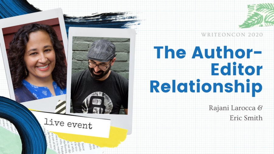 LIVE: The Author-Editor Relationship