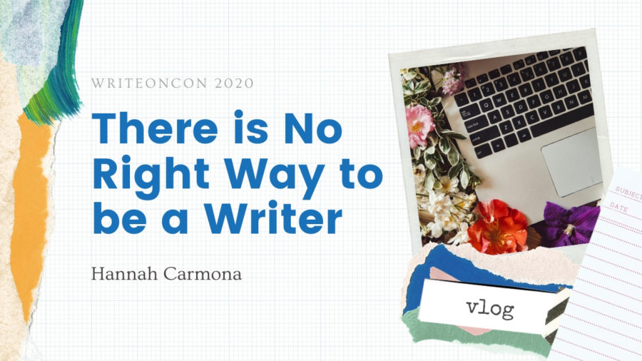 KEYNOTE: There is no Right Way to be a Writer