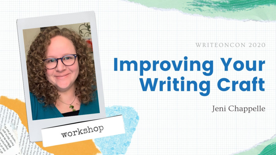 Workshop: Improving Your Writing Craft