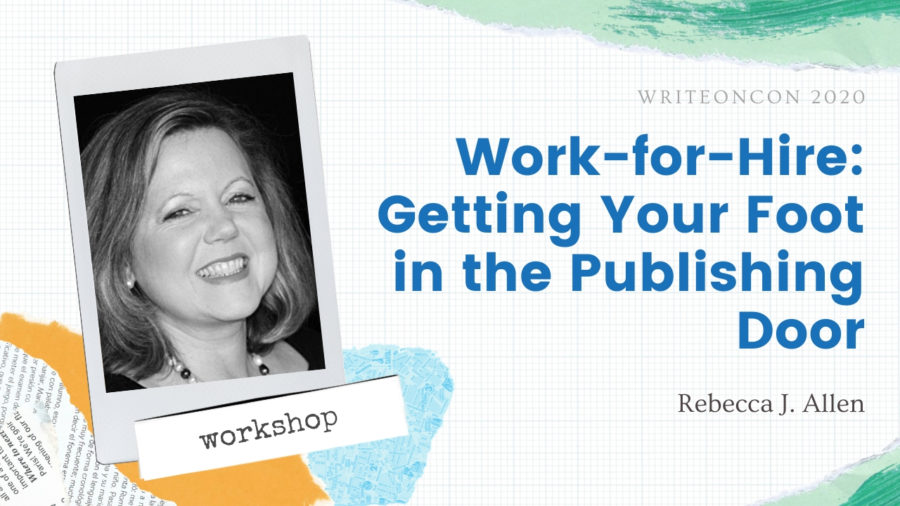 Workshop: Work-for-Hire – Getting Your Foot in the Publishing Door