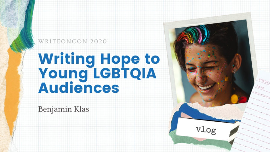 Writing Hope to Young LGBTQ Audiences
