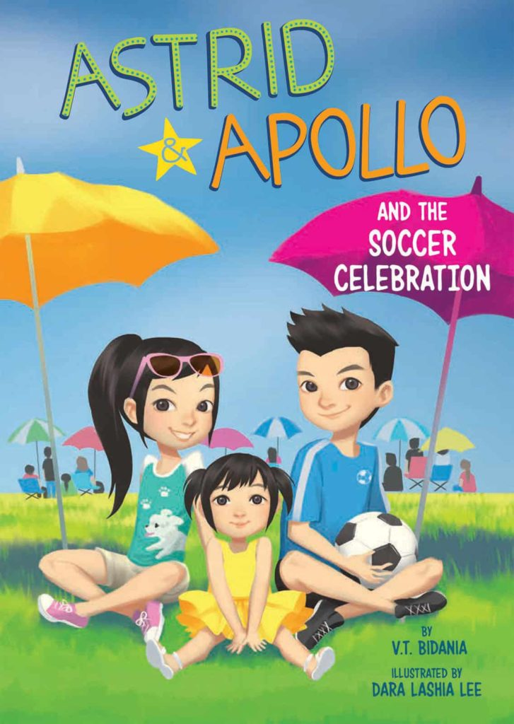 Astrid & Apollo and the Soccer Celebration by V.T. Bidania