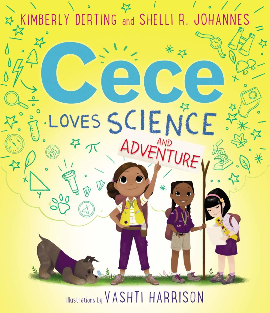 Cece Loves Science and Adventure by Kimberly Derting and Shelli R. Johannes