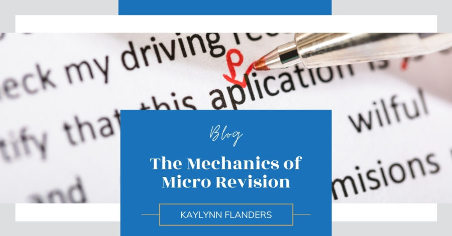 The Mechanics of Micro Revision