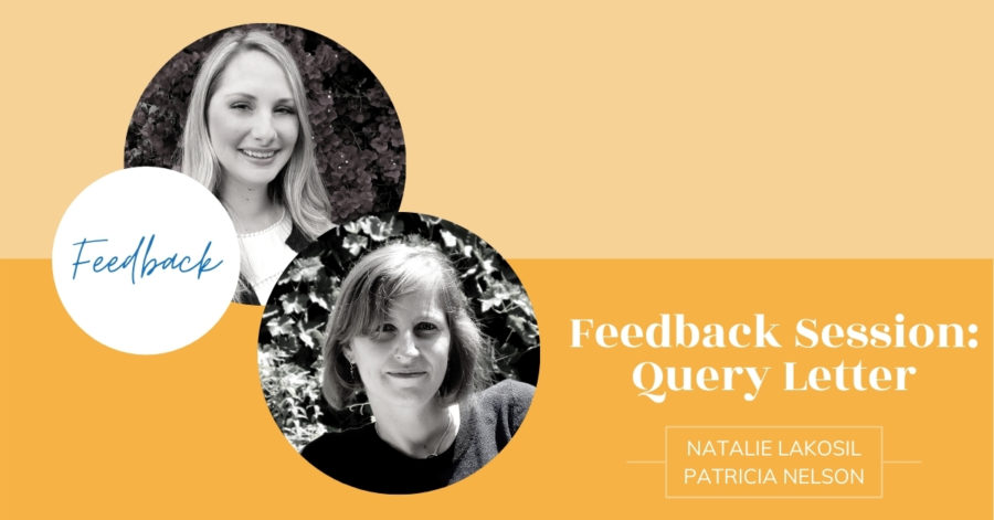 Feedback Session with Natalie Lakosil and Patricia Nelson