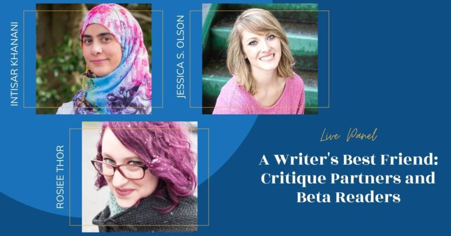 LIVE: A Writer's Best Friend: Critique Partners and Beta Readers