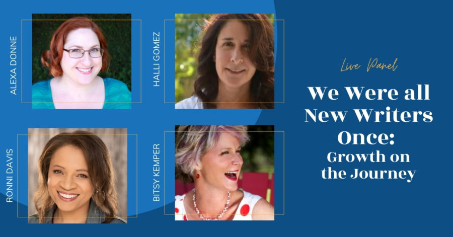 LIVE: We Were All New Writers Once: Growth on the Journey