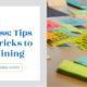 Process: Tips and Tricks to Outlining