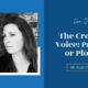 LIVE: The Creative Voice: Panster or Plotter