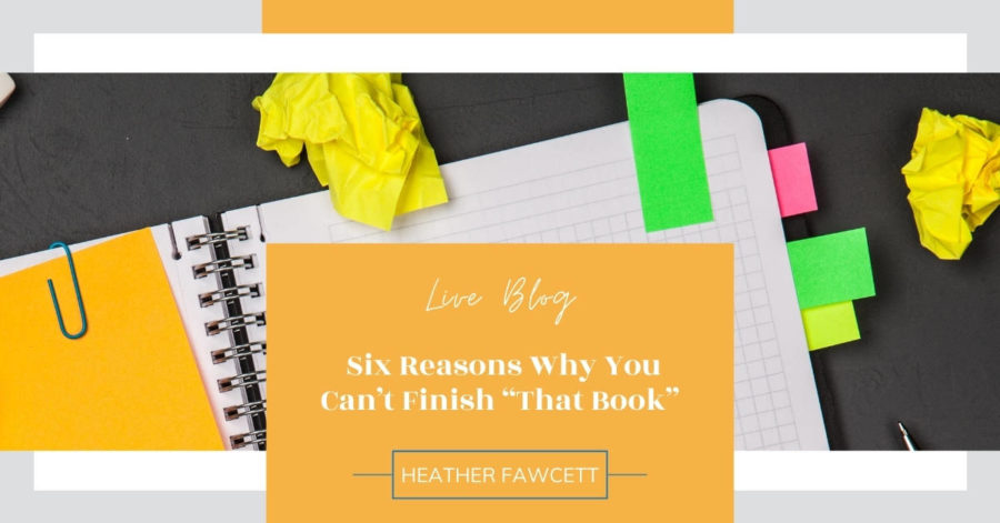 Six reasons you can't finish that book