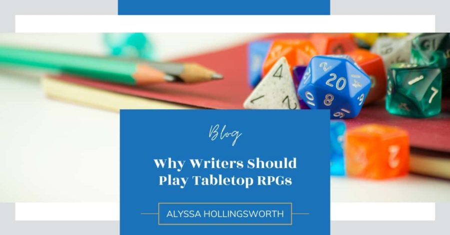 Why Writers Should Play Tabletop RPGs
