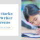 Life Hacks for Writer Parents