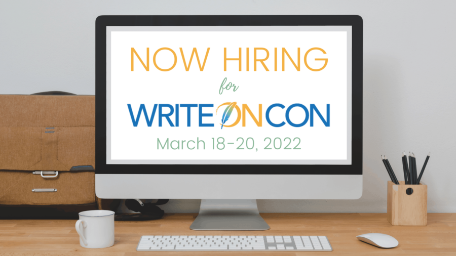 Now Hiring for WriteOnCon 2022
